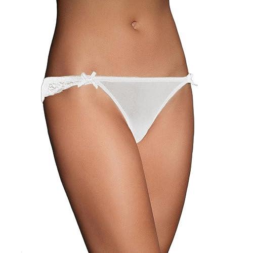 Familizo Citas para el cordón de las mujeres de la ropa interior tanga Tangas bragas de la ropa interior