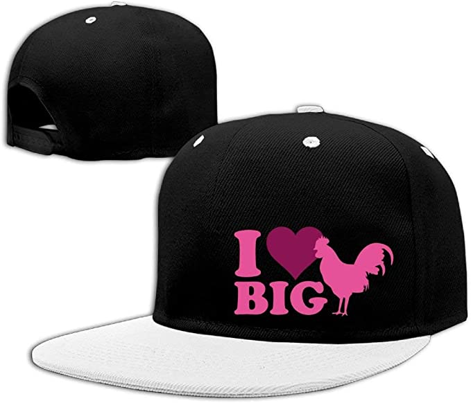 I Love Big Cock Unisex Adjustable Snapback Hip Hop Hat Dad Cap ...