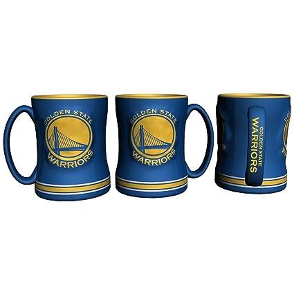 19208ac2bdd Golden State Warriors Coffee Mug - 14oz Sculpted Relief