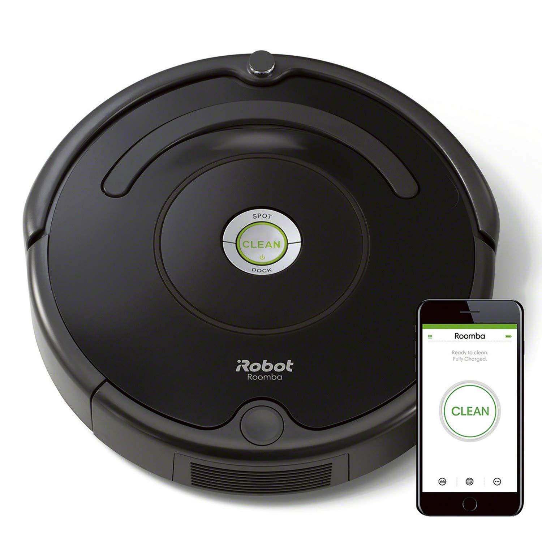 iRobot Roomba 671, Aspirateur Robot pour Tapis et Sols Durs, Capteurs de Poussière Dirt Detect, Système de Nettoyage en 3 Étapes, Connecté en WiFi et Programmable via Application product image