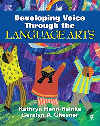 Download Developing Voice Through the Language Arts Pdf