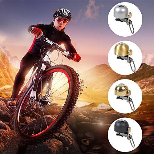 1pc – Timbre de bicicleta (acero inoxidable cuerno retro bell ...