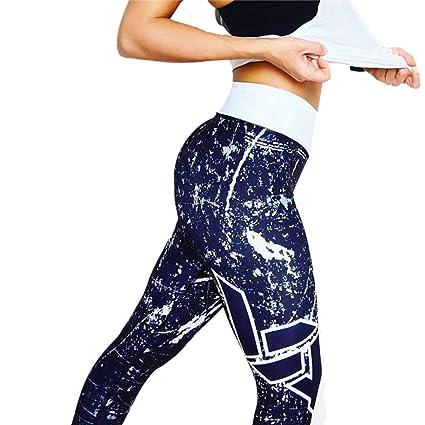 Yoga Pantalons Sports Imprimé D'entraînement Pour Femmes Leggings Pnk0wO