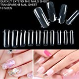 107 in 1 Poly Gel Nail Kit, Womdee Full Cover Nail