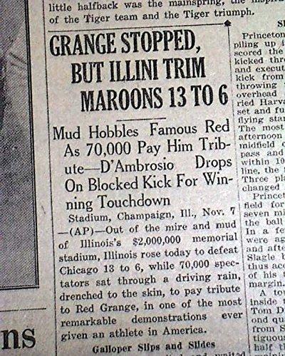Red Grange Illinois - 8
