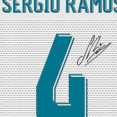 SGH SERVICES New Sergio Ramos Real Madrid - Camiseta de Manga ...
