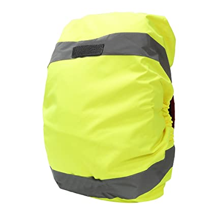 c8721e30ff9 AYKRM Reflective Backpack Cover, Rucksack Cover, Bag Rain Cover, High  Visibility, Waterproof