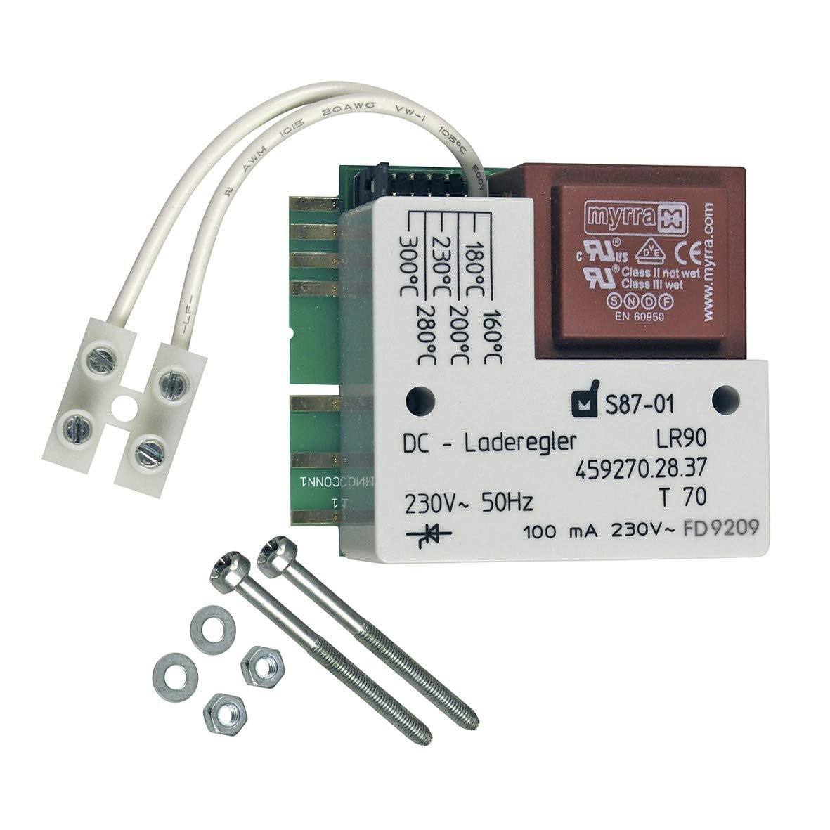 Elektron. Aufladeregler LR90; passend zu Geräten von:Bauknecht Dimplex Siemens Ersatzteilpartner