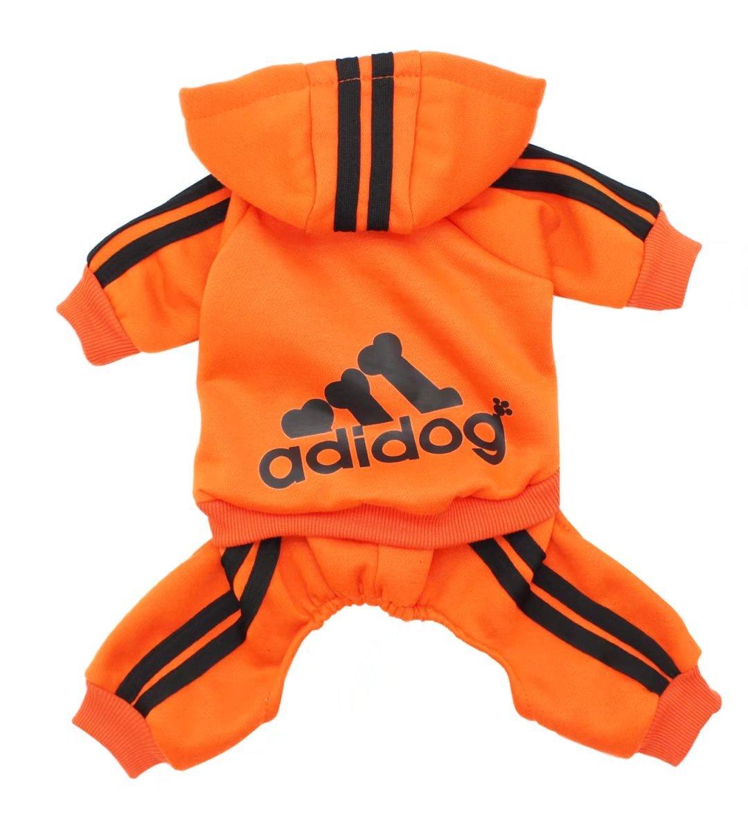 Scheppend Adidog vêtements pour animaux de compagnie pour chien chat chiot Hoodies manteau printemps automne et hiver Sweatshirt chandail chaud WLAID16