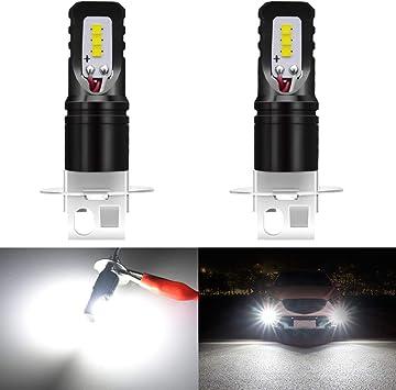 2X 28 LED DRL Daytime Running Light Car Fog Day Driving Universal Xenon White12V