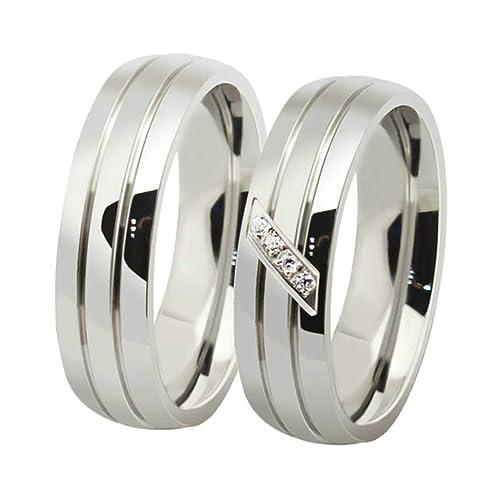 anelli fidanzamento acciaio