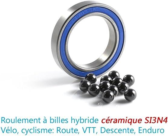 2 pièce roulement à billes noir 6804 2rs 20x32 x7 mm glissa moyeu Brüniert NITRO