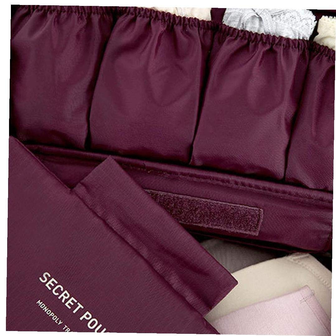 Tissu Oxford Emballage Organisateur Bra sous-v/êtements Sac de Rangement Lingerie Voyage Pouch Organisateur V/êtements demballage Toiletry Sac /étanche