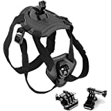 O RLY Dog Harness Chest Strap Belt Mount for GoPro Hero 4 5 6 Cam SJCAM/Apeman/campark/akaso Action Camera Accessories