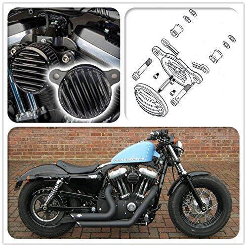 Filtres /à air de syst/ème de filtre dadmission de moto Kits de filtre /à air pour Harley Sportster pour Harley Sportster XL 883 1200 2004-2016 48 72 2010-2016 Sporter XL 1991-2016