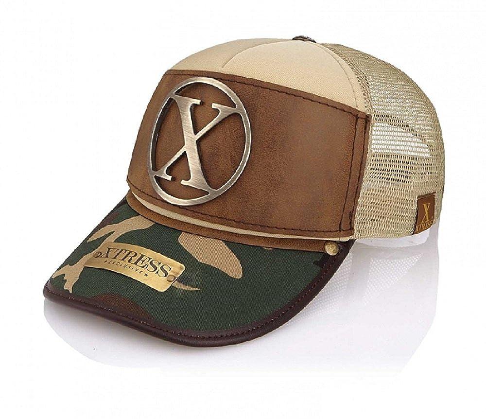 Xtress Exclusive Gorra marrón y de camuflaje para hombre y mujer ...