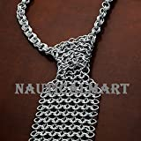 GEEK STYLE CHAINMAIL NECKTIE WEARABLE ARMOR COSTUME BY NAUTICALMART