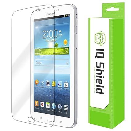 Samsung Galaxy Tab 3 7.0 Screen Protector, IQ Shield LiQuidSkin Full Coverage Screen Protector for Samsung Galaxy Tab 3 7.0 (SM-T110) HD Clear ...