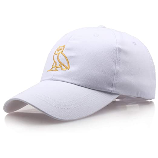 28cba3d7af2 Image Unavailable. Image not available for. Color  2018 New Owl Animal  Pattern Embroidery Cap Fitted Baseball Cap Men Women Baseball Hats  Casquette Bone