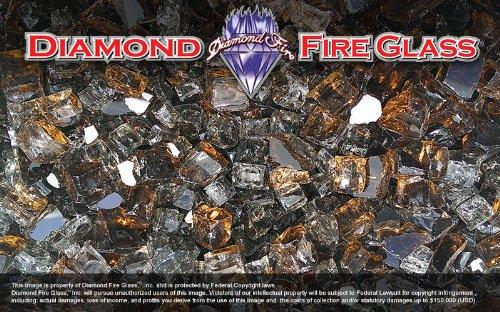 Copper Canyon - Premixed Fireplace Glass - 25 LBS. by Diamond Fire Glass