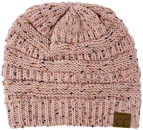 H-6033-71 Funky Junque Confetti Knit Beanie - Indi Pink