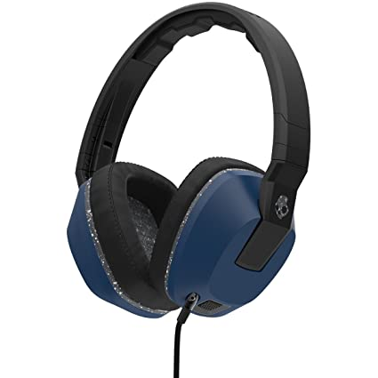 choose clearance attractive colour moderate price Skullcandy Crusher Headphones with Built-in Amplifier and Mic, Black Blue  and Gray