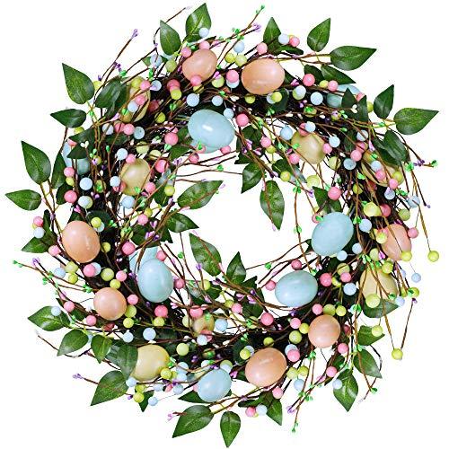 Easter Egg Wreath - besttoyhome 19