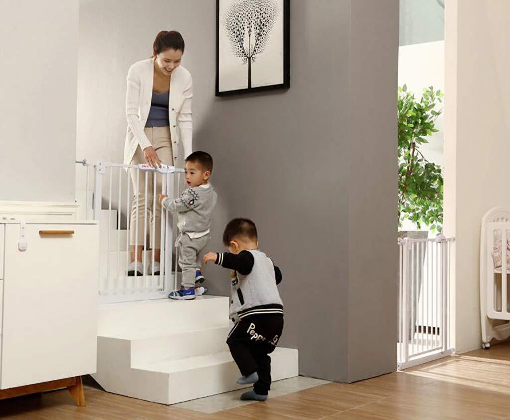ベビーセーフティゲート、簡単なステップウォークゲートを介して、66から84センチメートルの間のスペースに合う、壁と戸口を保護する、白 (サイズ さいず : 66-74cm) 66-74cm  B07MK847F8