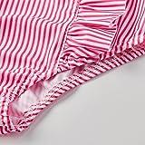 Funnycokid Infant Baby Girls Baby Bikini Swimsuit