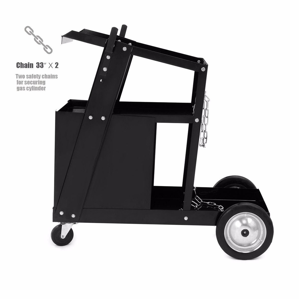 Nueva deslizante 4 cajones carro de soldadura soldador MIG Flux Soldador Arc Tig W/Rueda: Amazon.es: Bricolaje y herramientas