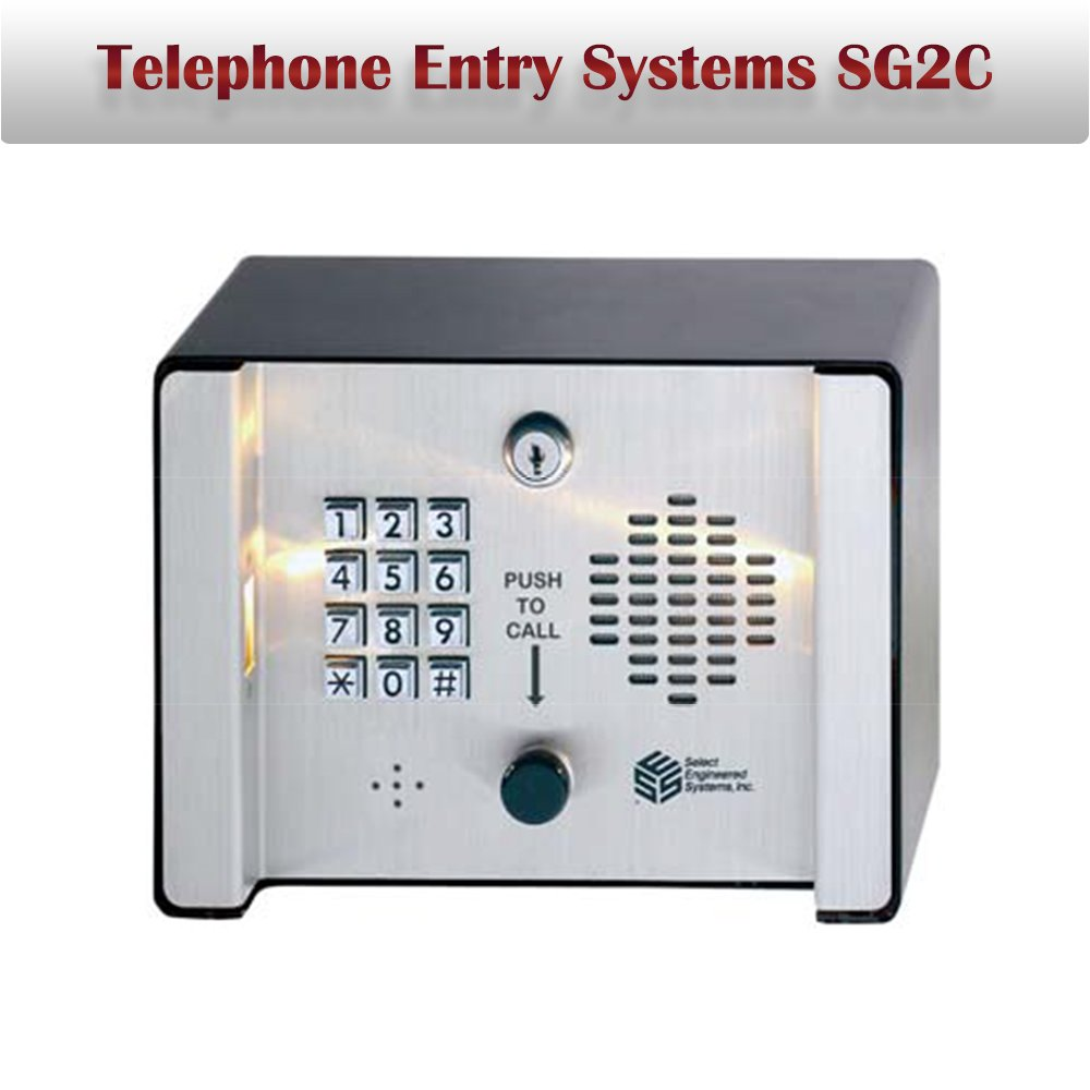 Telephone Entry Systems SG2C Access Control Systems Keypad