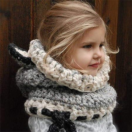 8e71f2487ac98 JBLDY Sombrero para Niños Otoño E Invierno Espesante Protector de Oreja  Forma de Animal Gorro de Lana Tejida a Mano Cálido  Amazon.es  Deportes y  aire libre