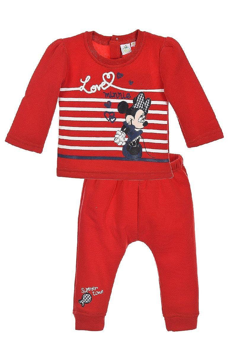 Ensemble 2 pièces jogging bébé fille Minnie 22841