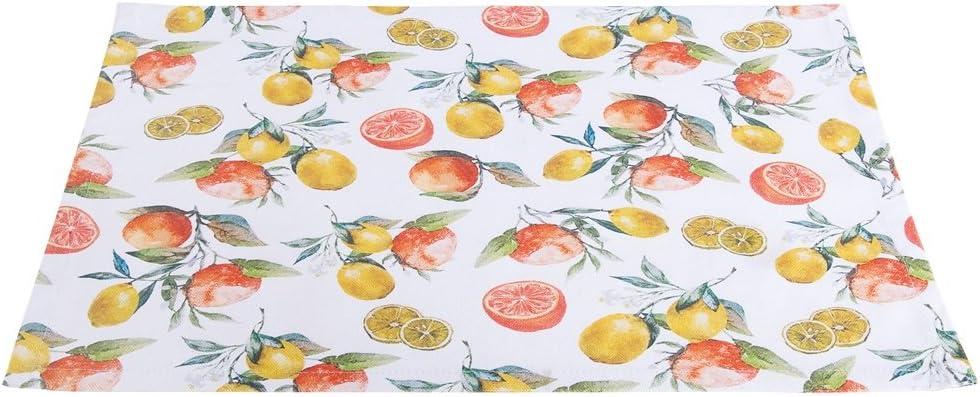 Gilde Mantel Decorado con Naranjas y Limones 44x33 cm