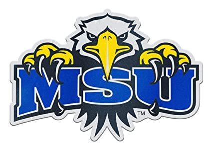 amazon com morehead state university eagles auto badge decal hard