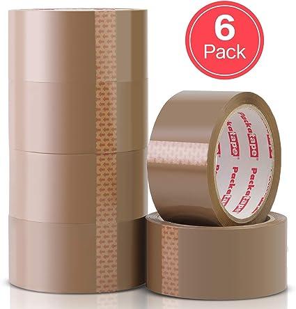 NASTRO Da Imballaggio Marrone Forte 48mm x 66m Confezione da 24 ROTOLI