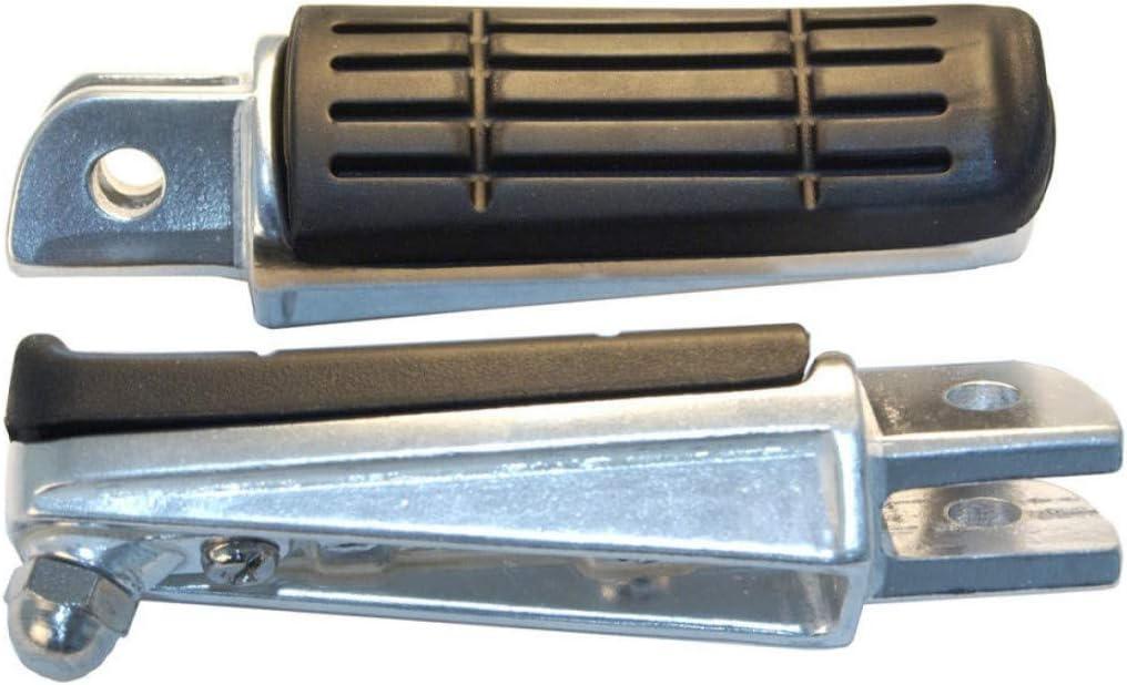EMGO Compatible avec MT03-XJ6-FZ6-R6-R1-900 TDM-1300 FJR-PAIRE DE REPOSES PIEDS Adaptable 1620-1122
