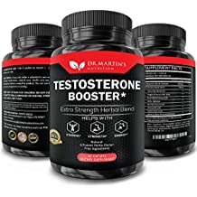 Extra Strength Testosterone Booster - Naturally Boost your Libido, Stamina, Endurance, Strength & Energy For Men & Women - Burn Fat & Build Lean Muscle Mass Today