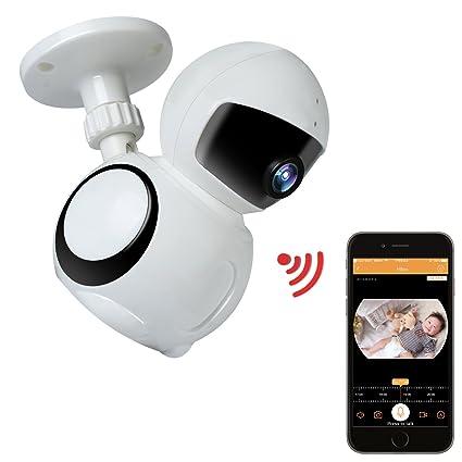 Cámara IP HD 1080p inalámbrica con aplicación WiFi para vigilancia y seguridad de HotchFire, con
