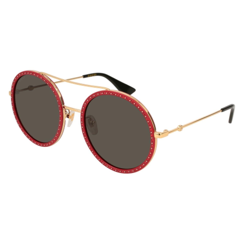 Sunglasses Gucci GG 0061 S- 018 GOLD / GREY