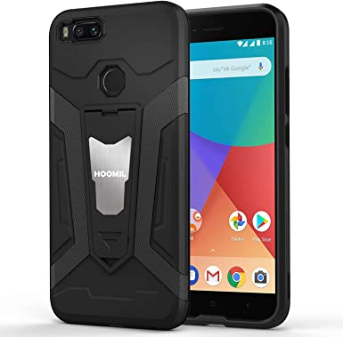 HOOMIL Funda para Xiaomi Mi A1, Funda para Xiaomi Mi 5X Negro Armor Funda para Xiaomi Mi 5X / Mi A1 Carcasa Shock-Absorción Silicona Case - Negro (H3209): Amazon.es: Ropa y accesorios