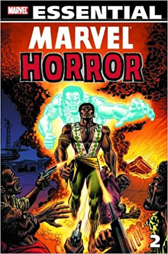 essential marvel horror vol 2 marvel essentials v 2