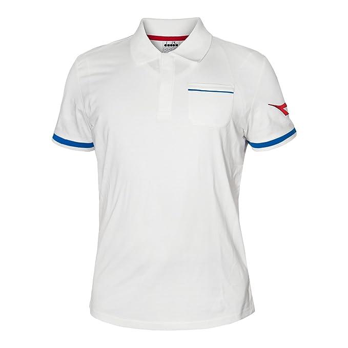 Diadora Sport 102172683 SS Pq Polo para Hombre: Amazon.es: Ropa y ...