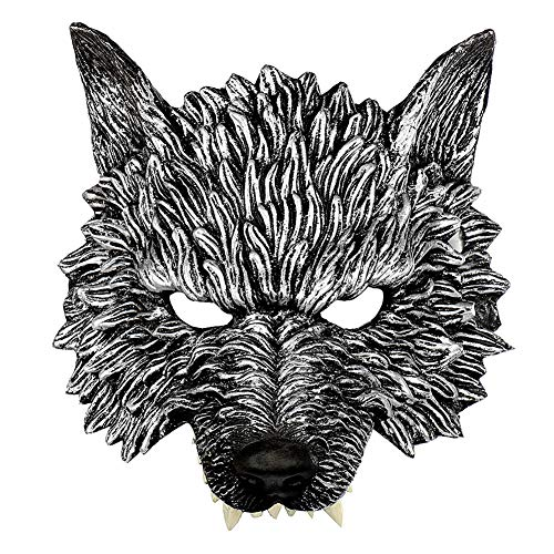 Scary As Hell Wolf Mask - Wolf Mask, Animal Head Masks for