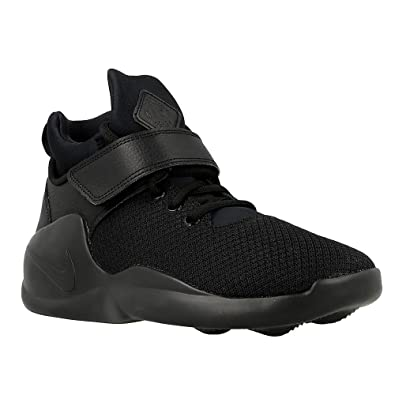 NIKE Kwazi Big Kids Style Shoes : 845075, Black/Black, 4
