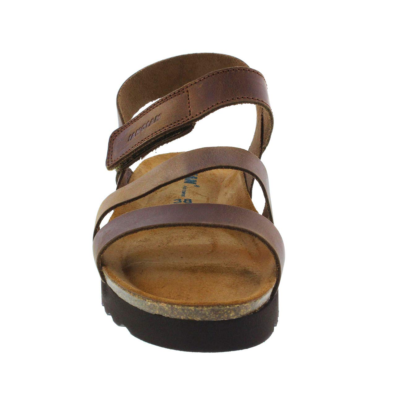 05e70c09f5 Amazon.com | Sanosan Women's Karma Oiled Leather Sandals | Sandals