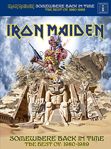 Iron Maiden Tab Book - Iron Maiden: Somewhere Back In Time, The Best of: 1980-1989 (Guitar TAB)