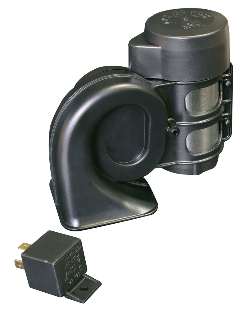 Klaxcar 81944K TR99 24V High 2B Single Horn Black
