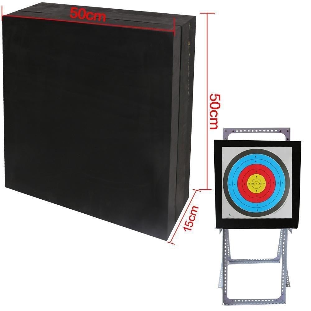 Toparchery Self Healing EVA Foam Arrow Target Bow Stand Targets Hunting Shooting 50x50x15cm Lightweight Mat Practice Shooting