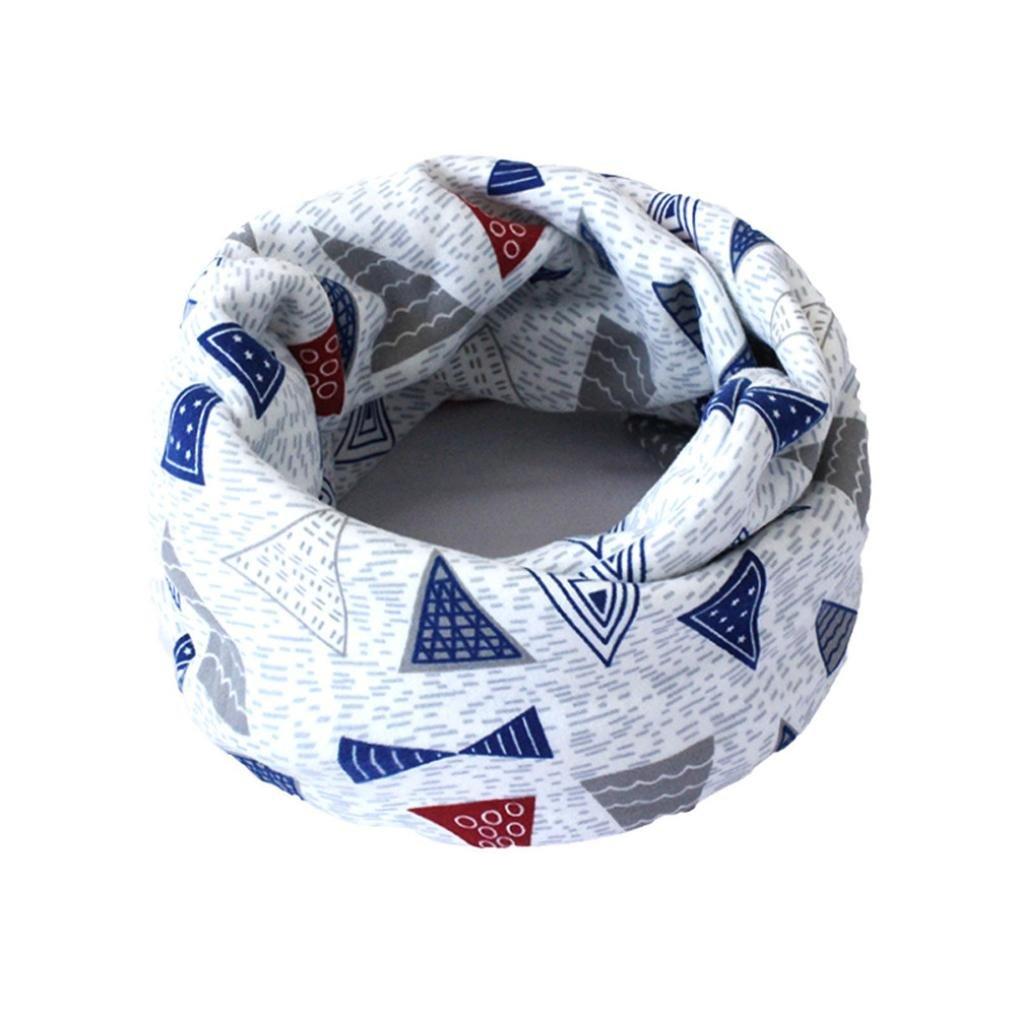 K-youth® Otoño Invierno Unisex Bebé Pañuelos Cuello del Algodón Más grueso Bufanda del Redondo